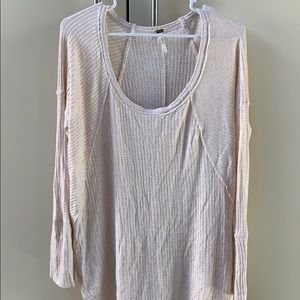 Free People thermal long sleeve